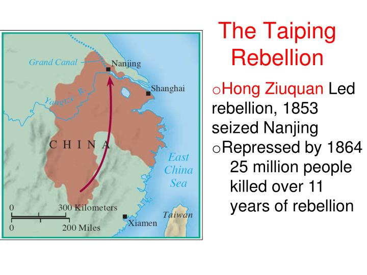 taiping rebellion essay