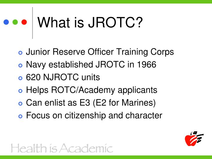 What is JROTC?