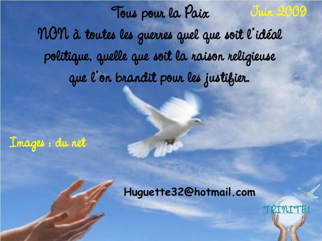 Tous pour la Paix