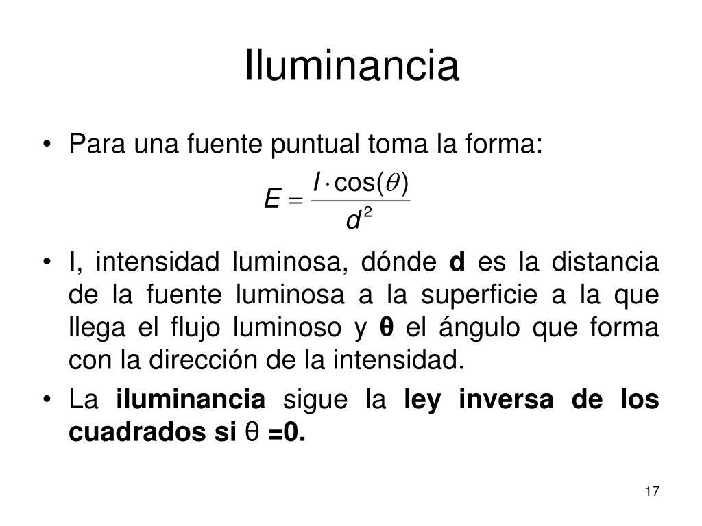 Iluminancia