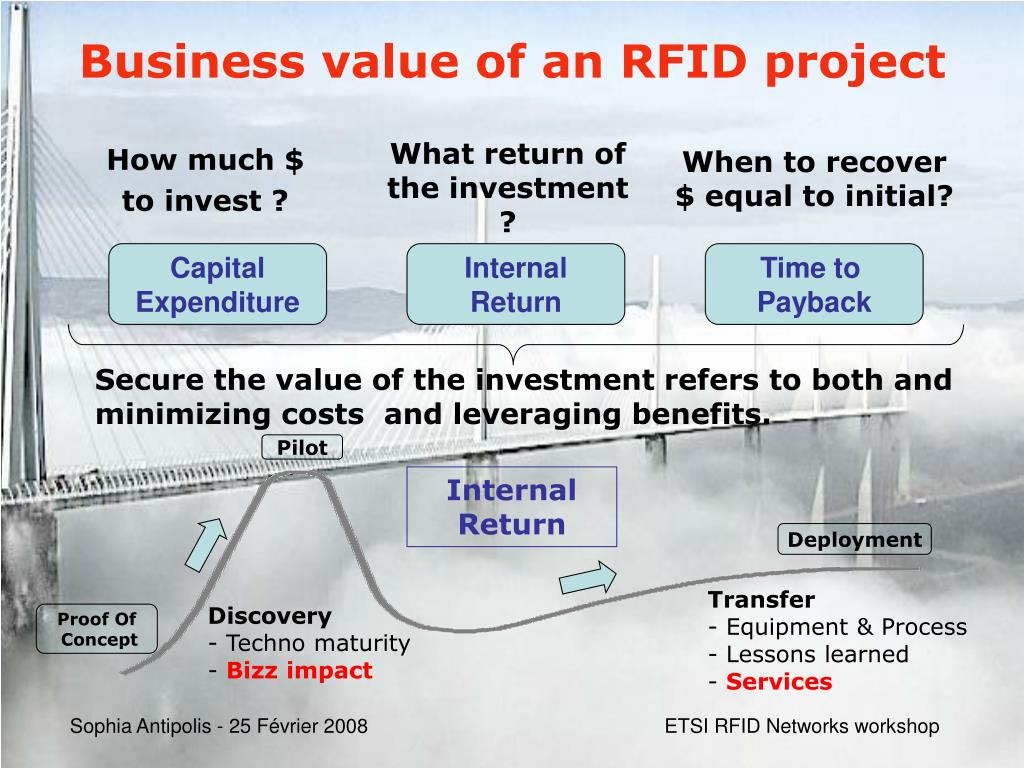 Business value of an RFID project