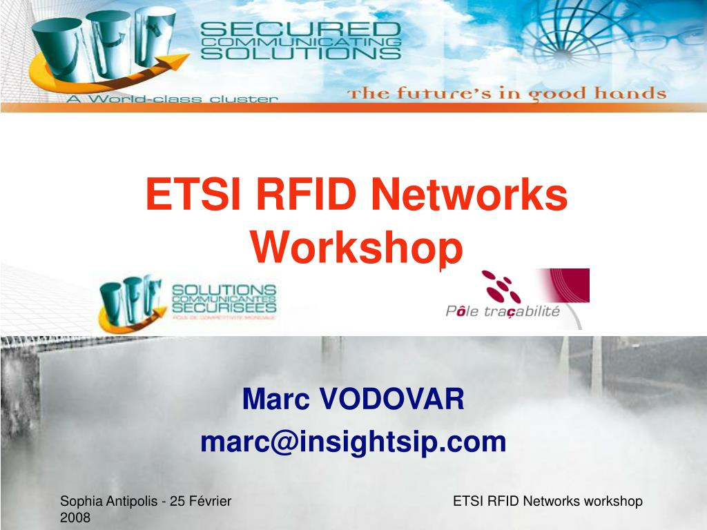 ETSI RFID Networks Workshop