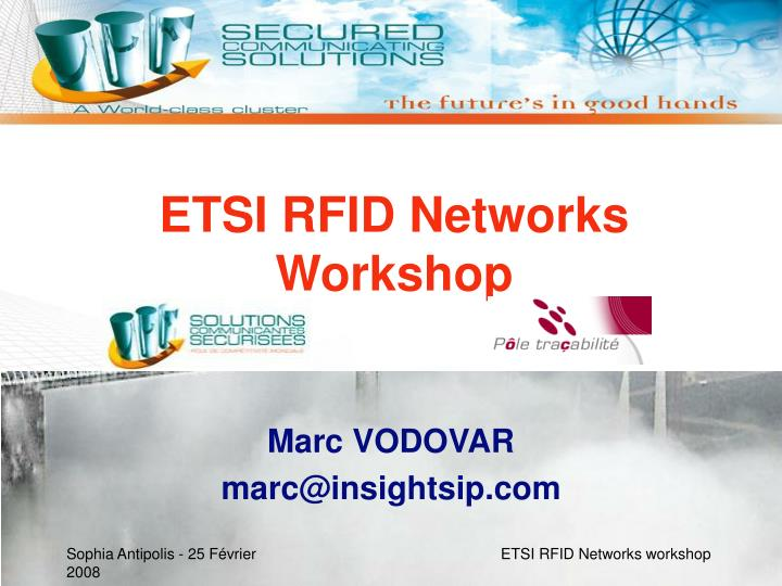 Etsi rfid networks workshop l.jpg