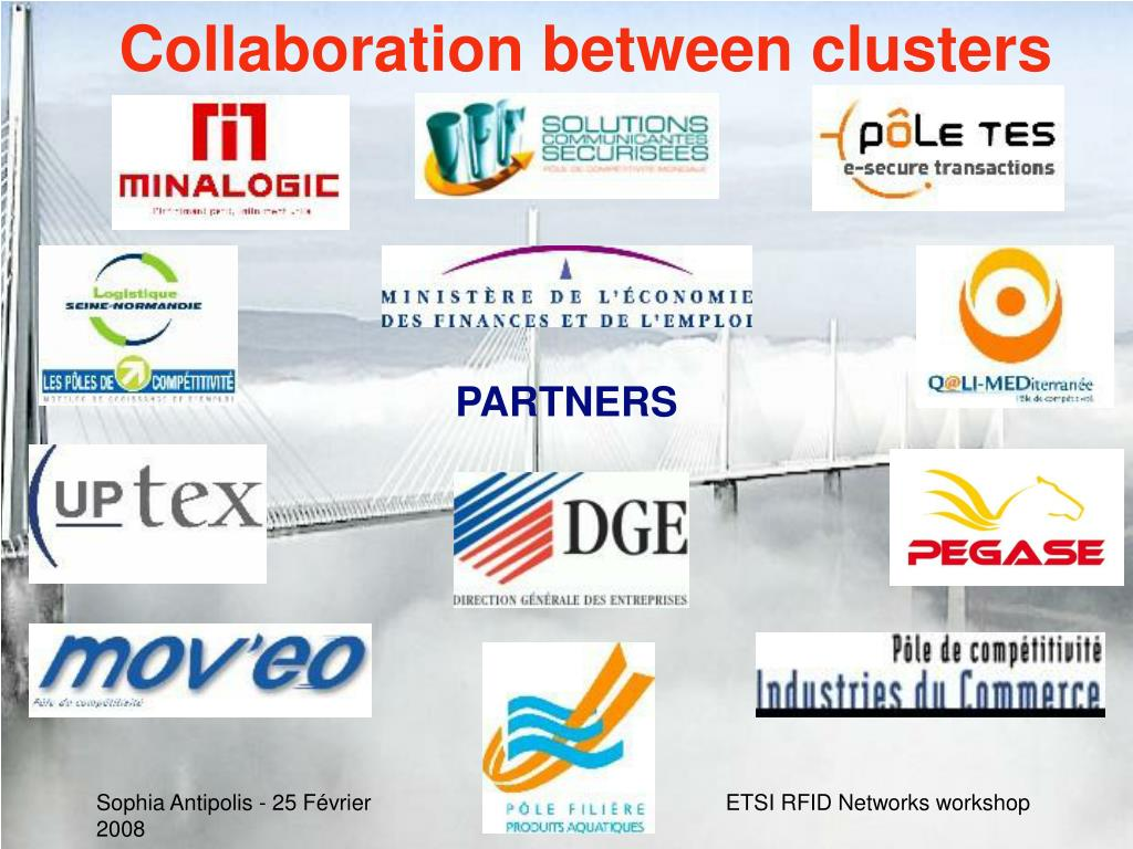 Collaboration between clusters