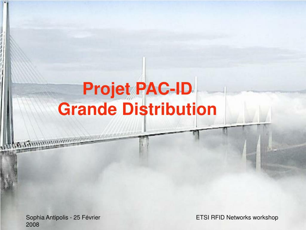 Projet PAC-ID