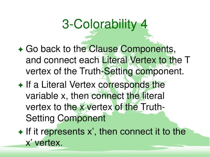 3-Colorability 4