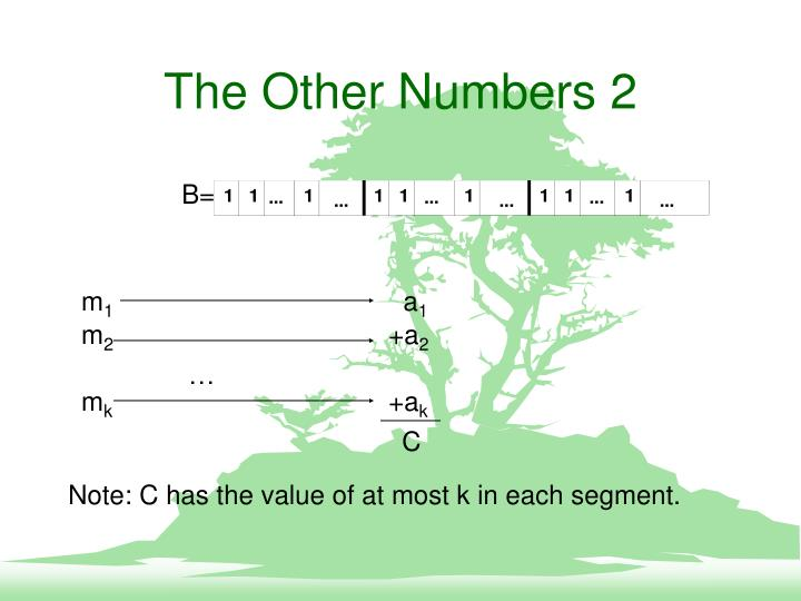 The Other Numbers 2