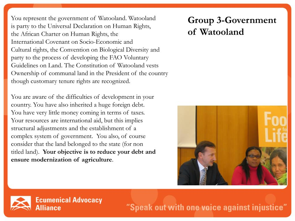 Group 3-Government of Watooland