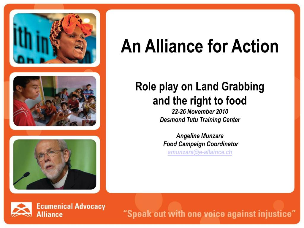 An Alliance for Action