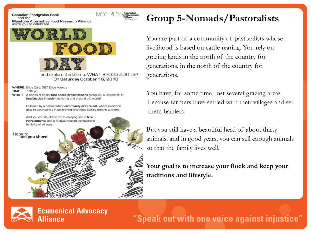 Group 5-Nomads/Pastoralists