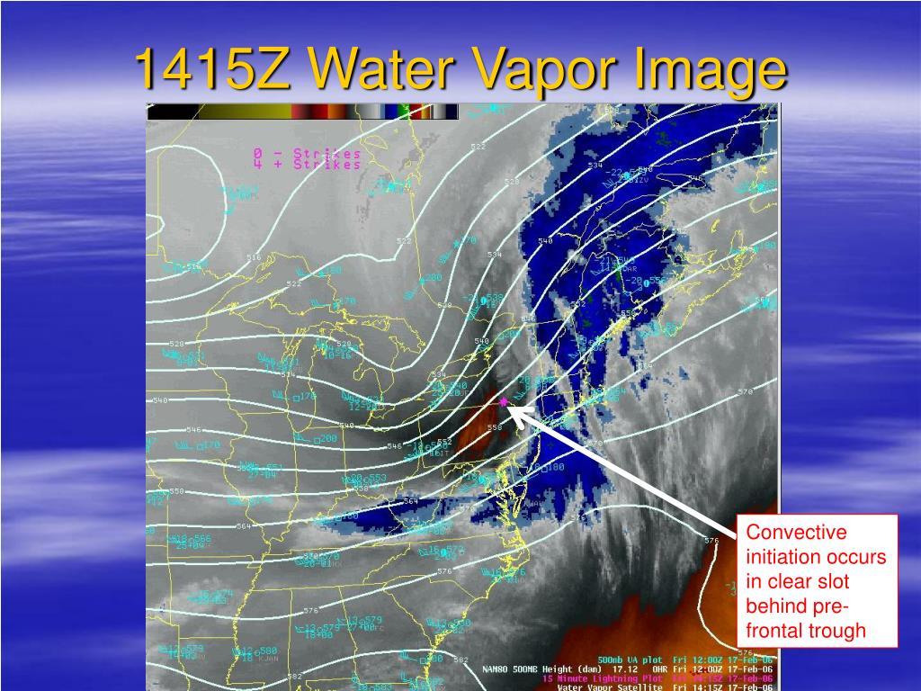 1415Z Water Vapor Image