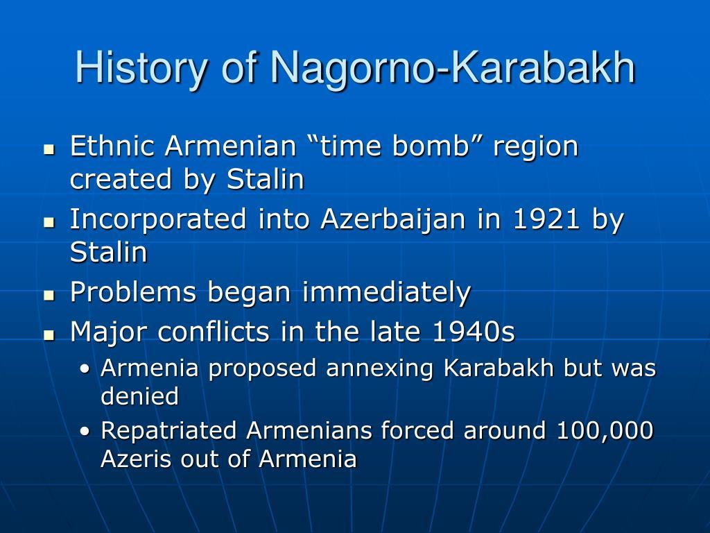 History of Nagorno-Karabakh