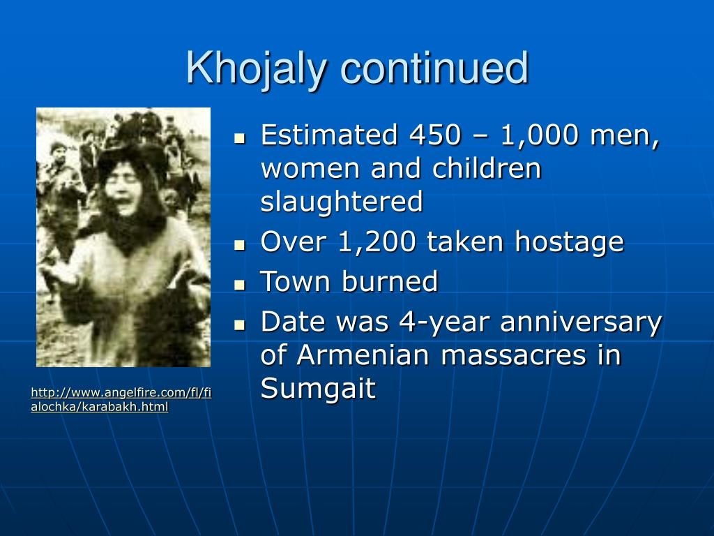 Khojaly continued
