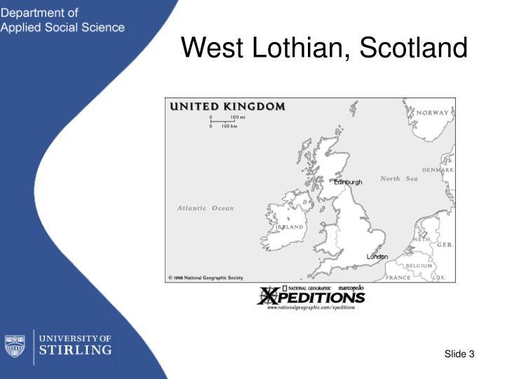 West Lothian, Scotland
