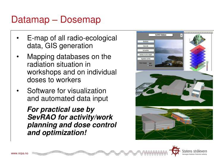 Datamap – Dosemap