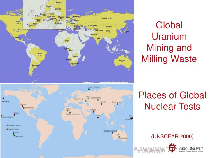 Global Uranium Mining and Milling Waste