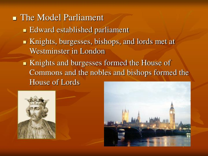 The Model Parliament
