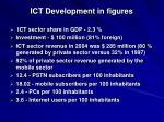 ict development in figures