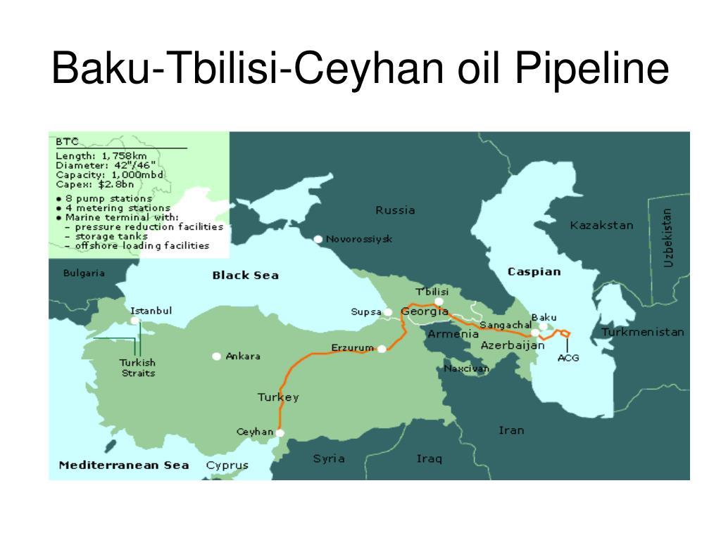 Baku-Tbilisi-Ceyhan oil Pipeline