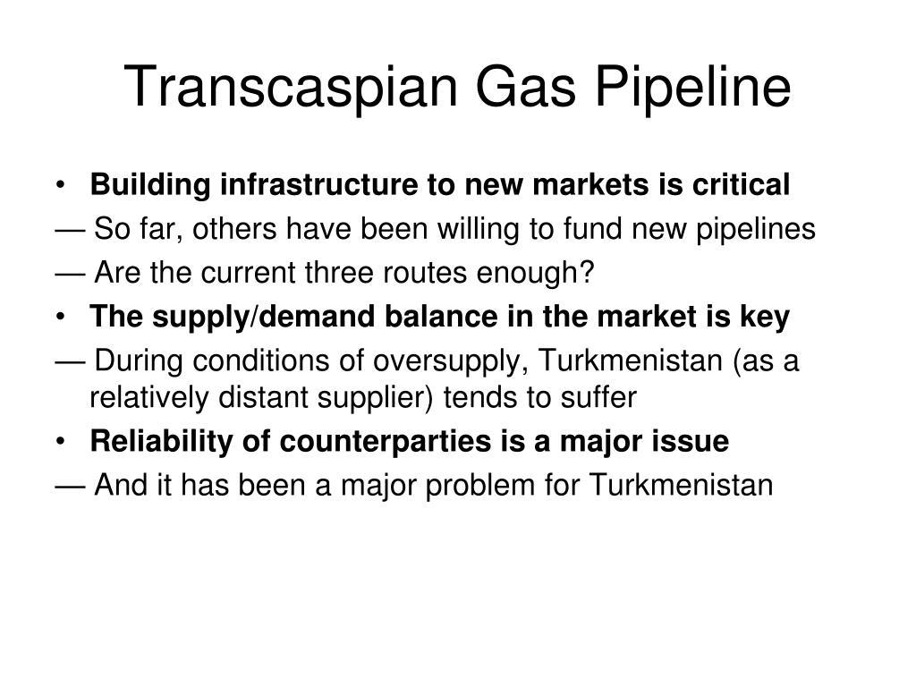 Transcaspian Gas Pipeline