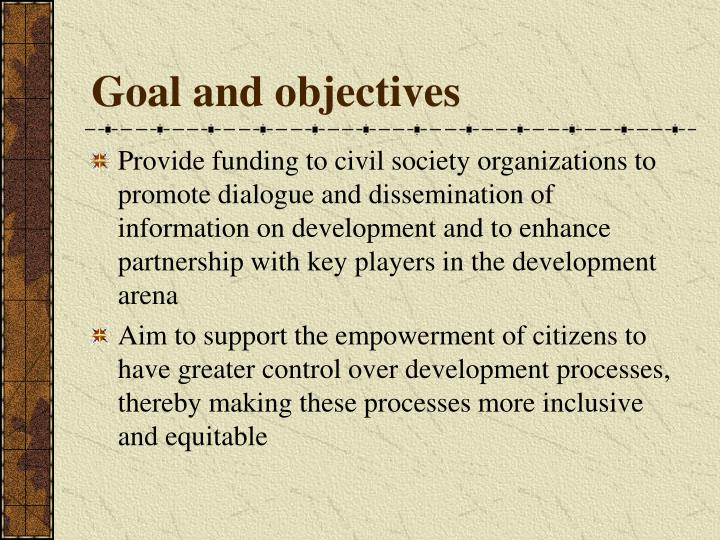 Goal and objectives l.jpg