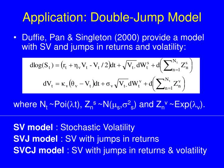 Application: Double-Jump Model