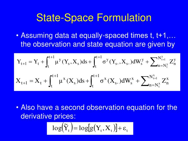 State-Space Formulation