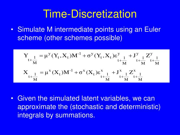 Time-Discretization