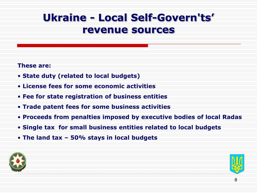 Ukraine - Local Self-Govern'ts'