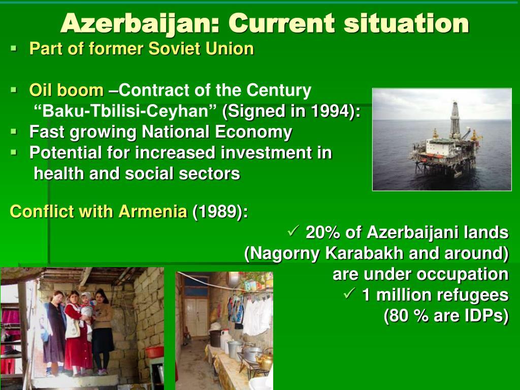 Azerbaijan: Current situation