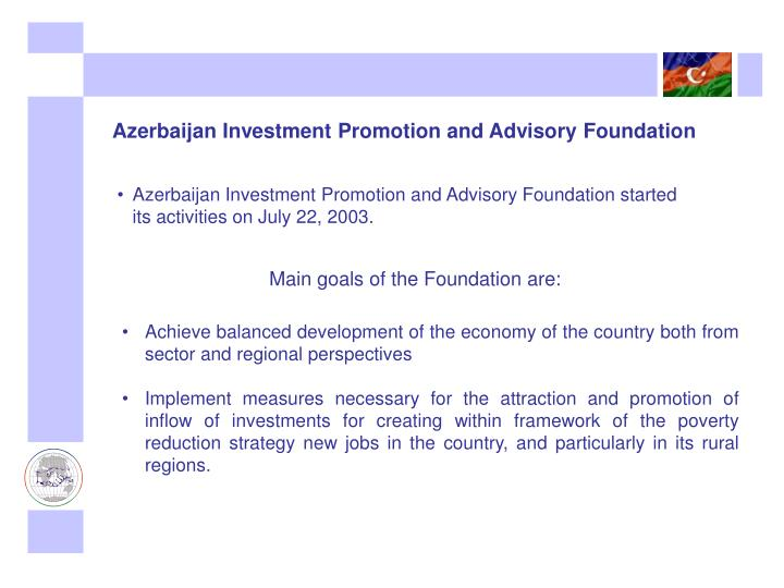 Azerbaijan Investment Promotion and Advisory Foundation