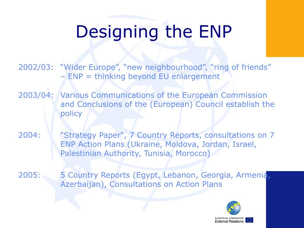 Designing the ENP