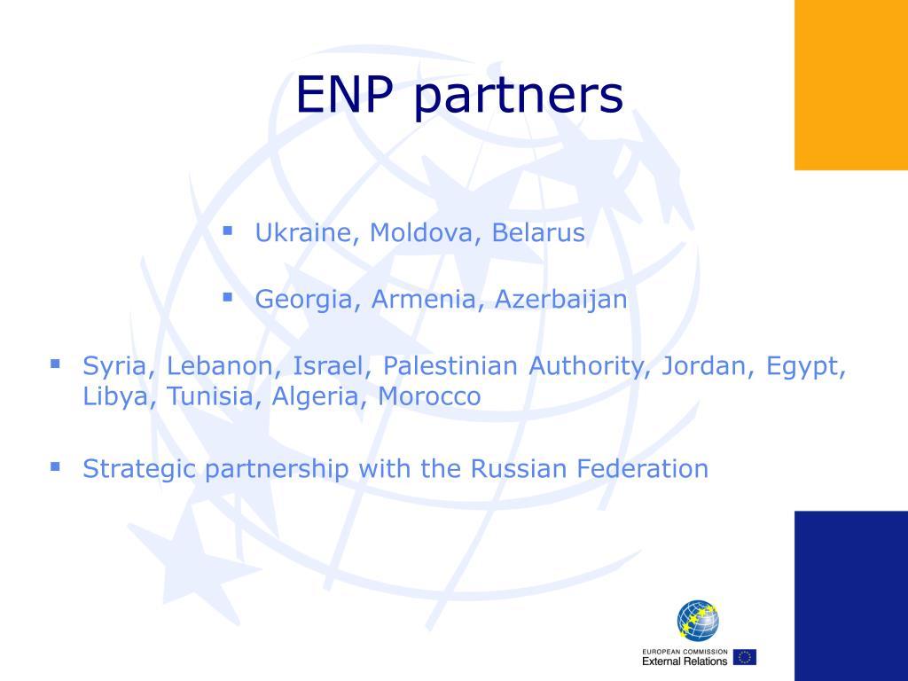 ENP partners