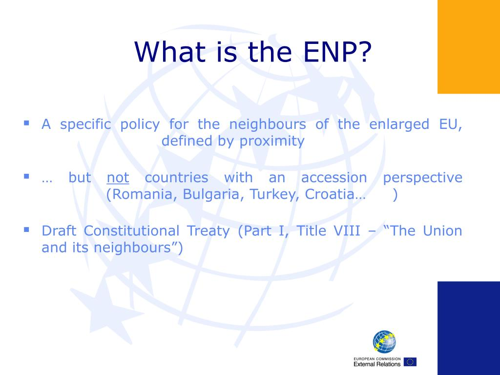 What is the ENP?