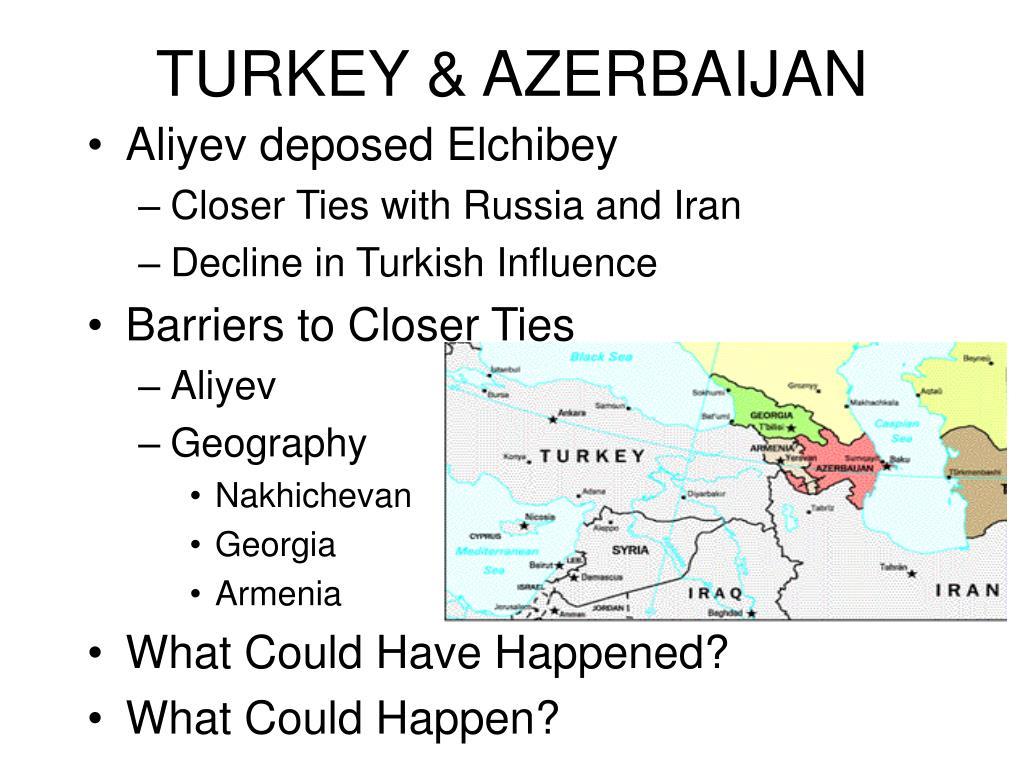 TURKEY & AZERBAIJAN
