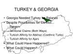 turkey georgia