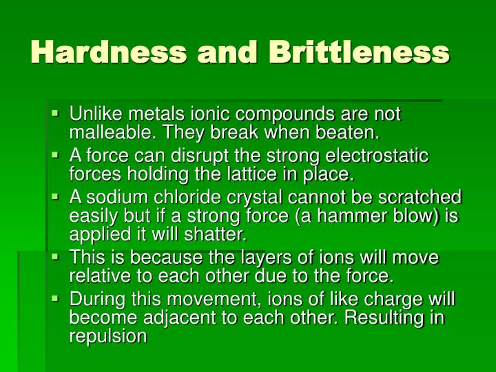 Hardness and Brittleness