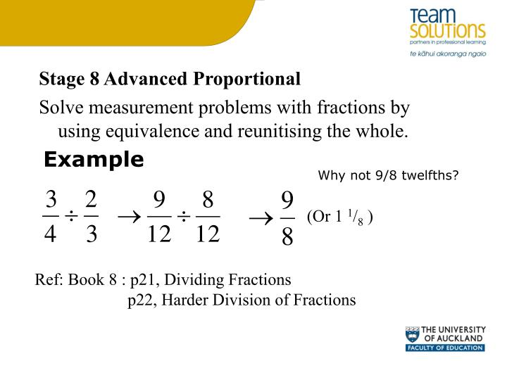 Stage 8 Advanced Proportional