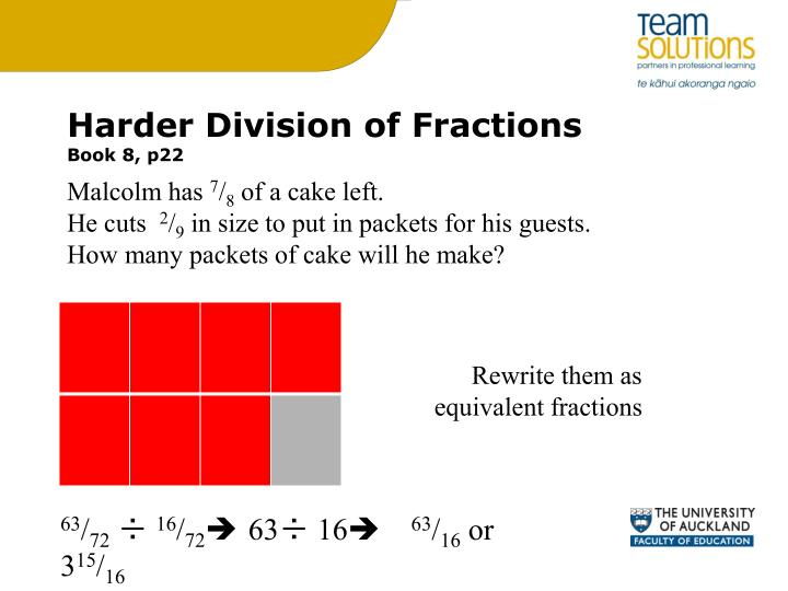 Harder Division of Fractions