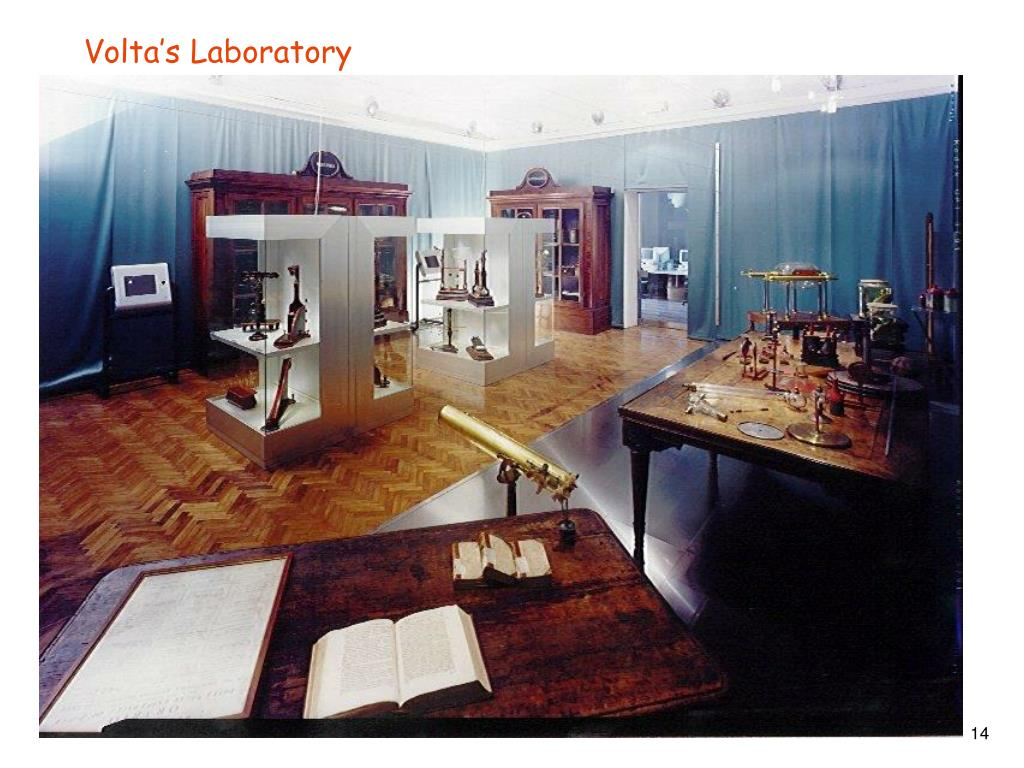 Volta's Laboratory
