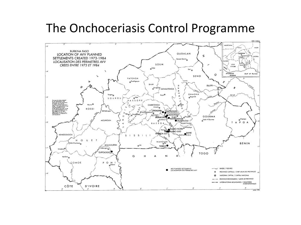 The Onchoceriasis Control Programme