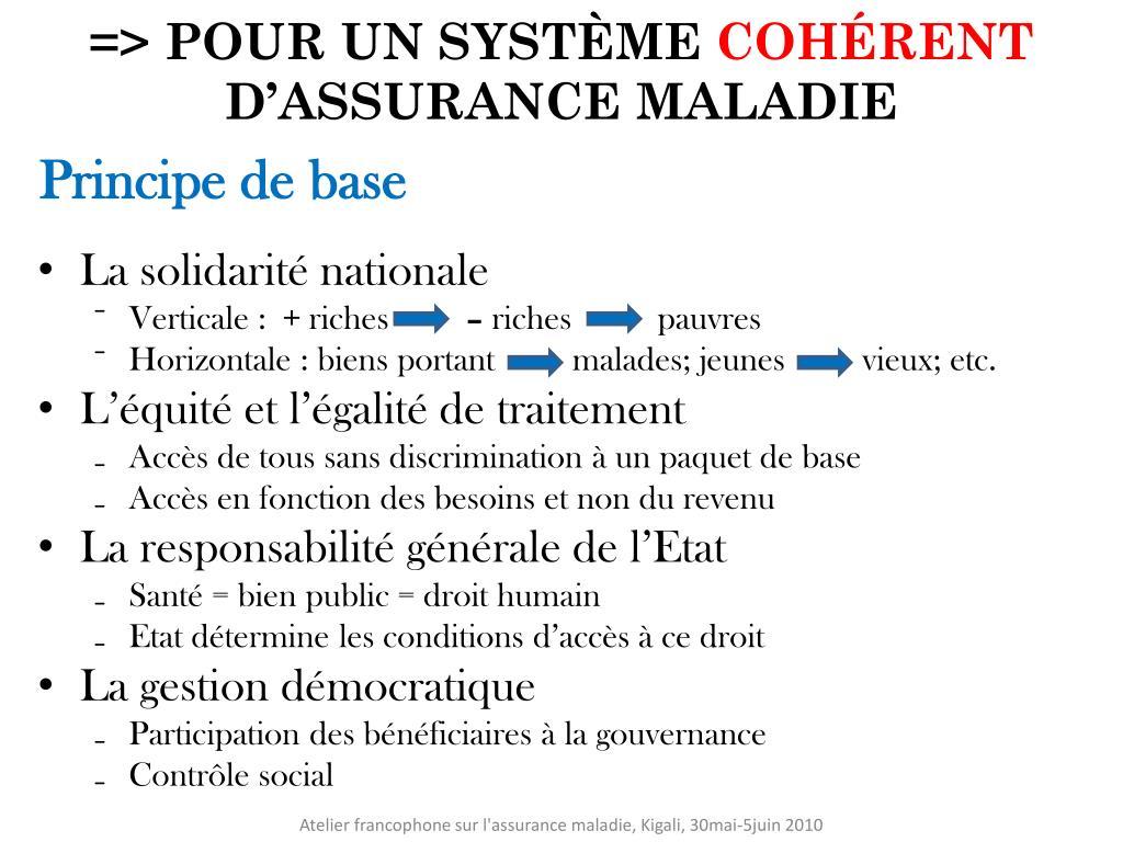 => POUR UN SYSTÈME