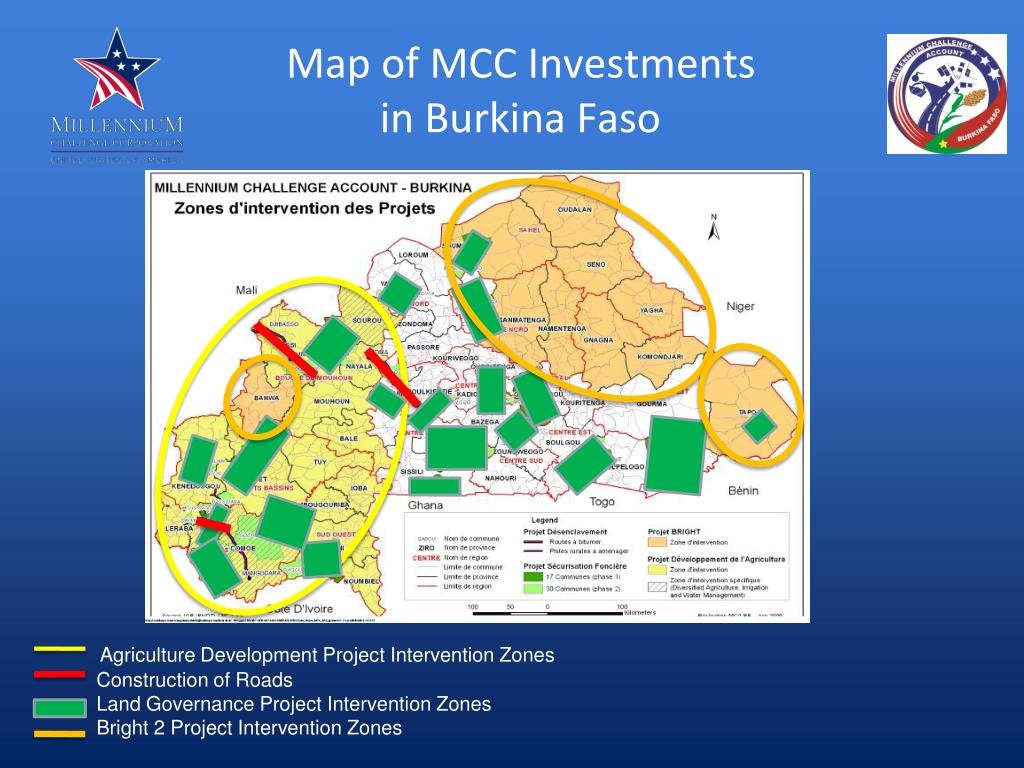 Map of MCC Investments