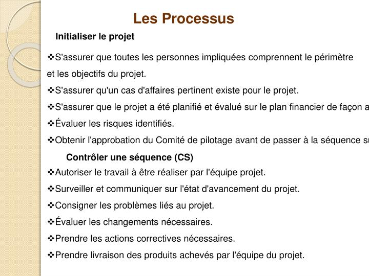 Les Processus