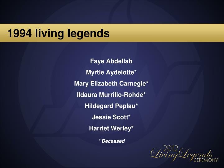 1994 living legends