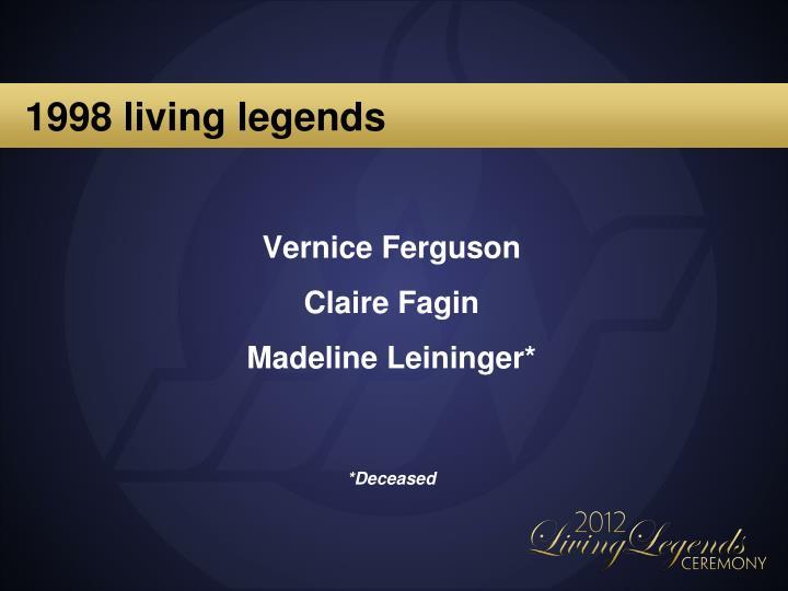 1998 living legends