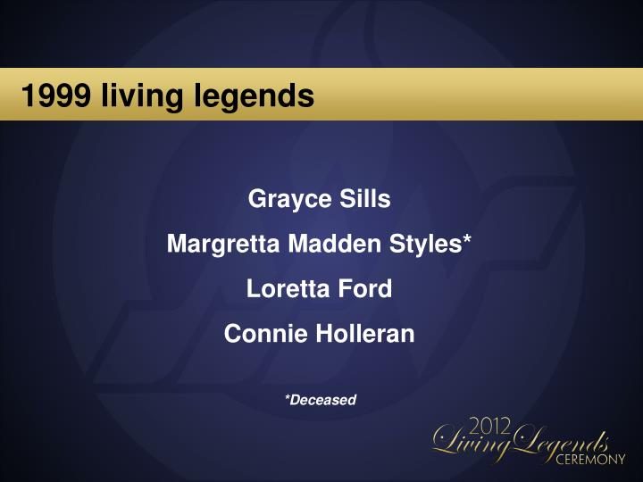 1999 living legends