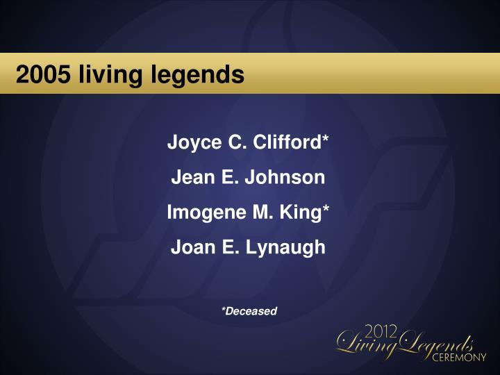 2005 living legends