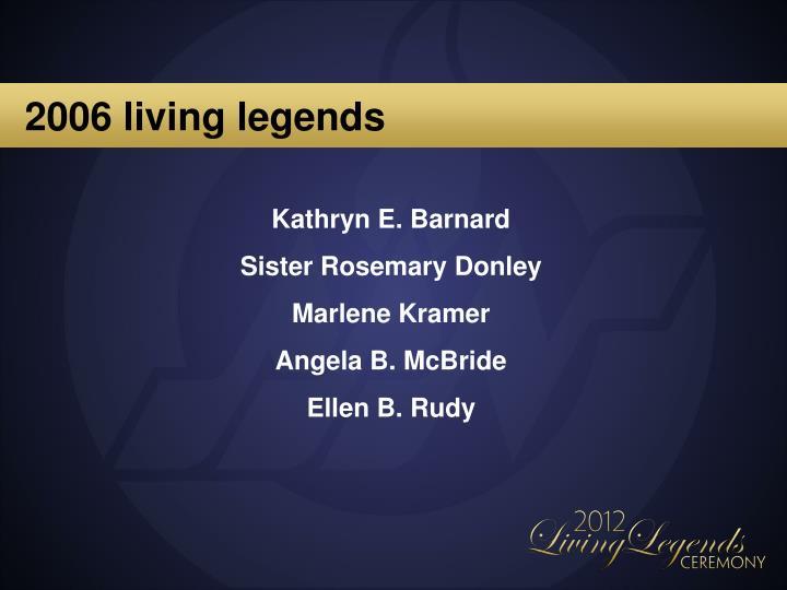 2006 living legends