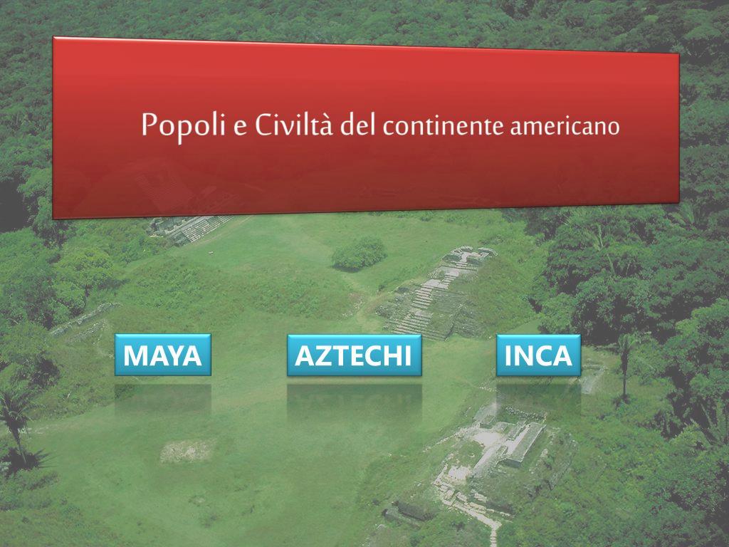 Popoli e Civiltà del continente americano